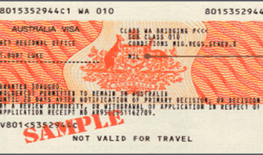 Australian visaapplication visa label migration agents brisbane sydney