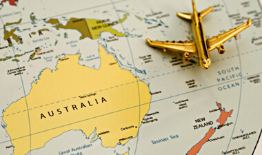 Travel Australia Visitor Visa Temporary Work Visas PR Permanent Residency Visa Label Migration Immigration